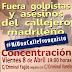 """Concentración para exigir que """"golpistas y asesinos"""" queden fuera del callejero madrileño"""