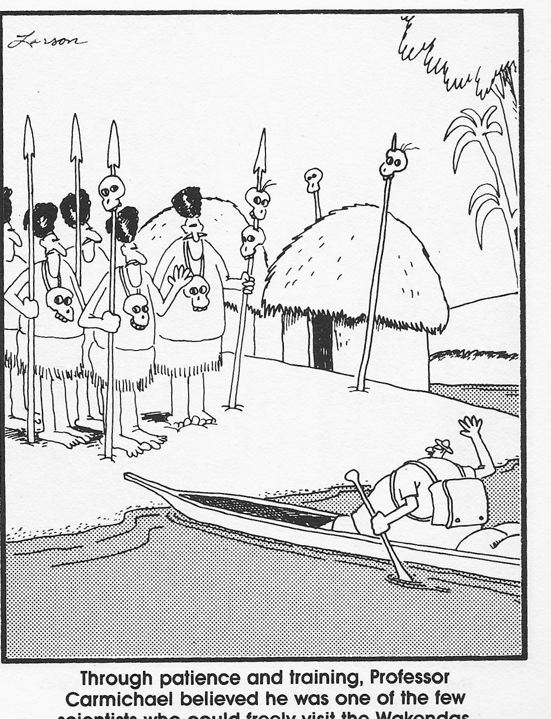thoughts from the right brain creation science a far side look
