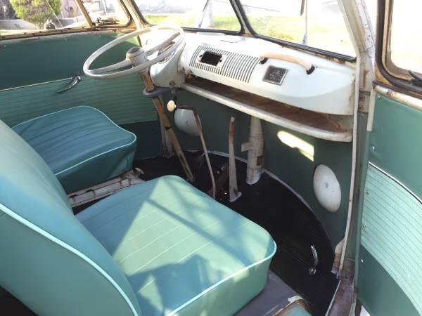 1964 Vw Bus Deluxe 13 Window Vw Bus Wagon
