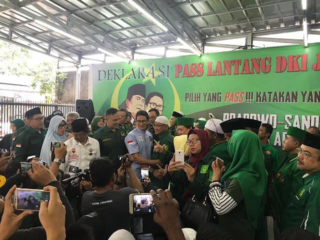 Tak Mau Ingkari Ijtima Ulama, Suara PBB Tetap Buat Prabowo-Sandi