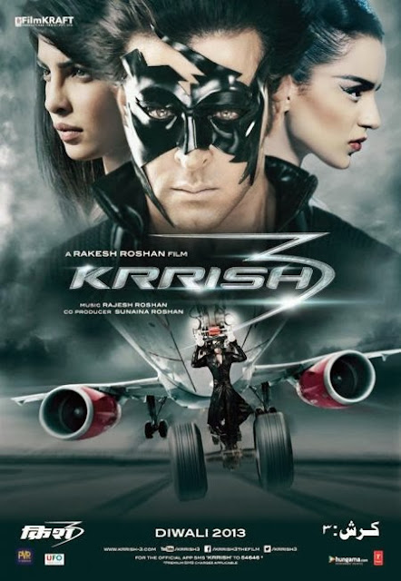 Krrish 3 2013 DVDRip 350mb ESub