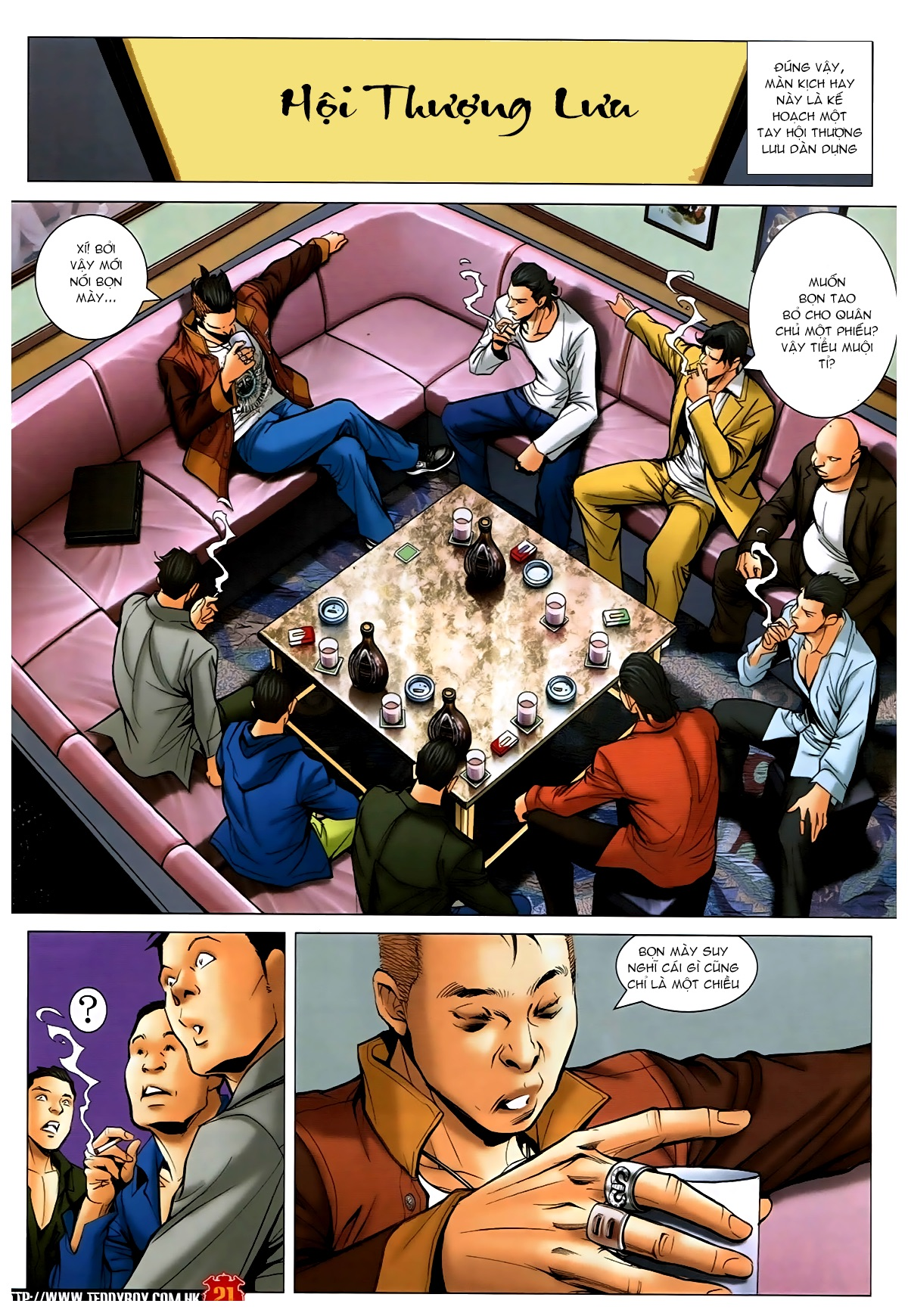 Người Trong Giang Hồ - Chapter 1593: Tọa quán Vượng Giác - Pic 20