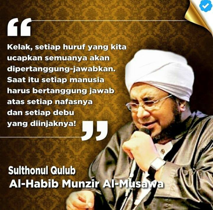 Mutiara Renungan dari Al-Habib Munzir Al-Musawa ~ Meme ...