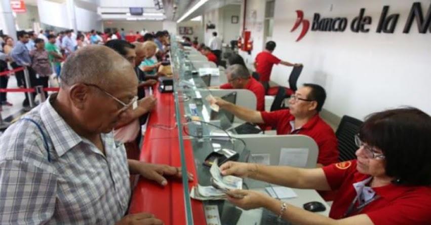 BN: Banco de la Nación iniciará este jueves 8 noviembre pago a pensionistas y en 48 agencias atenderá más temprano desde las 07:00 am - www.bn.com.pe