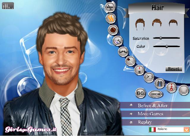 Justin Timberlake Makeover