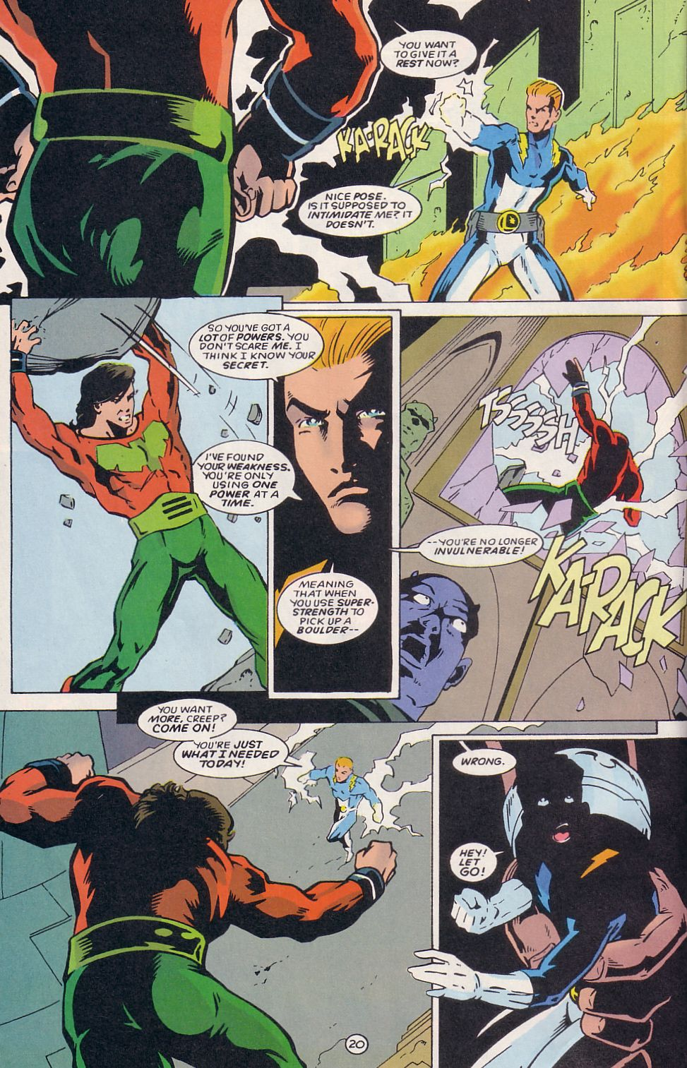 Legion of Super-Heroes (1989) 64 Page 20