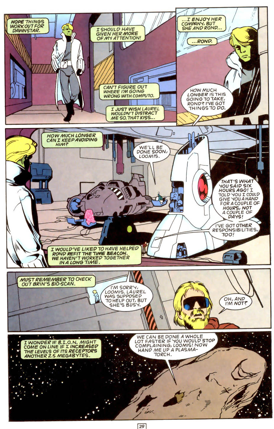 Legion of Super-Heroes (1989) 50 Page 29