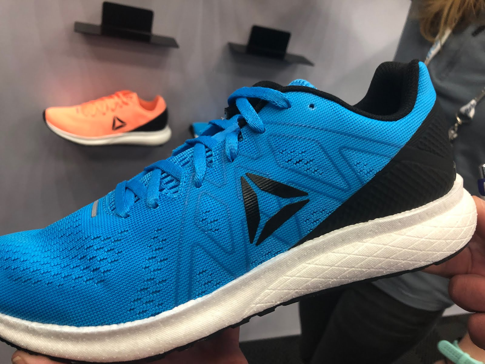 8b5071075a9 The Floatride Energy features a simple engineered mesh upper reminding in  its overlays design of the Floatride Run Fast but of somewhat more  substantial ...