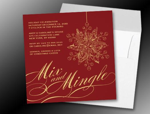 Elegant Party Invitations \u2013 gangcraftnet - holiday celebration invitations