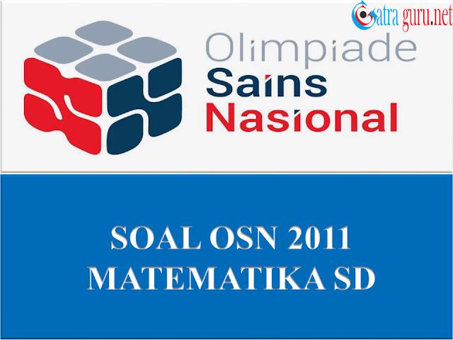 Soal OSN Matematika SD Tahun 2011