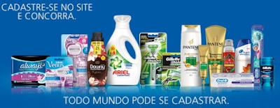 """Promoção """"Rodada de Prêmios P&G"""""""
