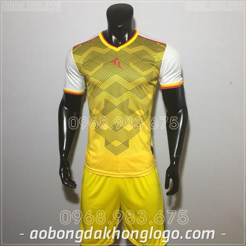 Áo bóng đá không logo TL Xabi  màu vàng