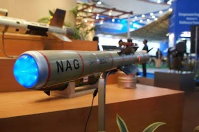 Anti Tank Guided Missiles Nag Successfully Tested