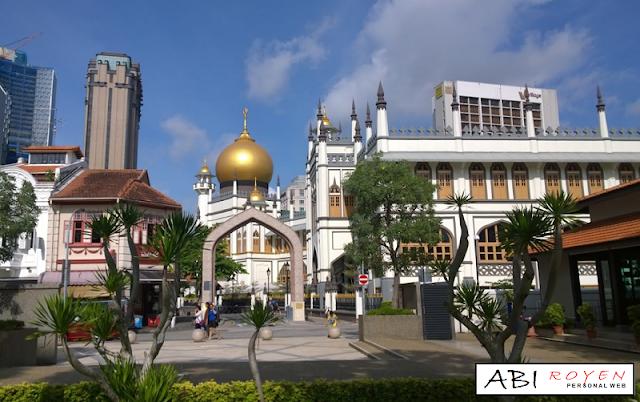Tempat%2BWisata%2BDi%2BSingapura%2BPaling%2BMenarik%2BMasjid%2BSultan 20 Tempat Wisata Di Singapura Paling Menarik Dan Wajib Di Kunjungi