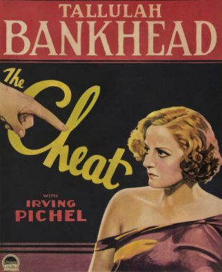 Talullah Bankhead in The Cheat