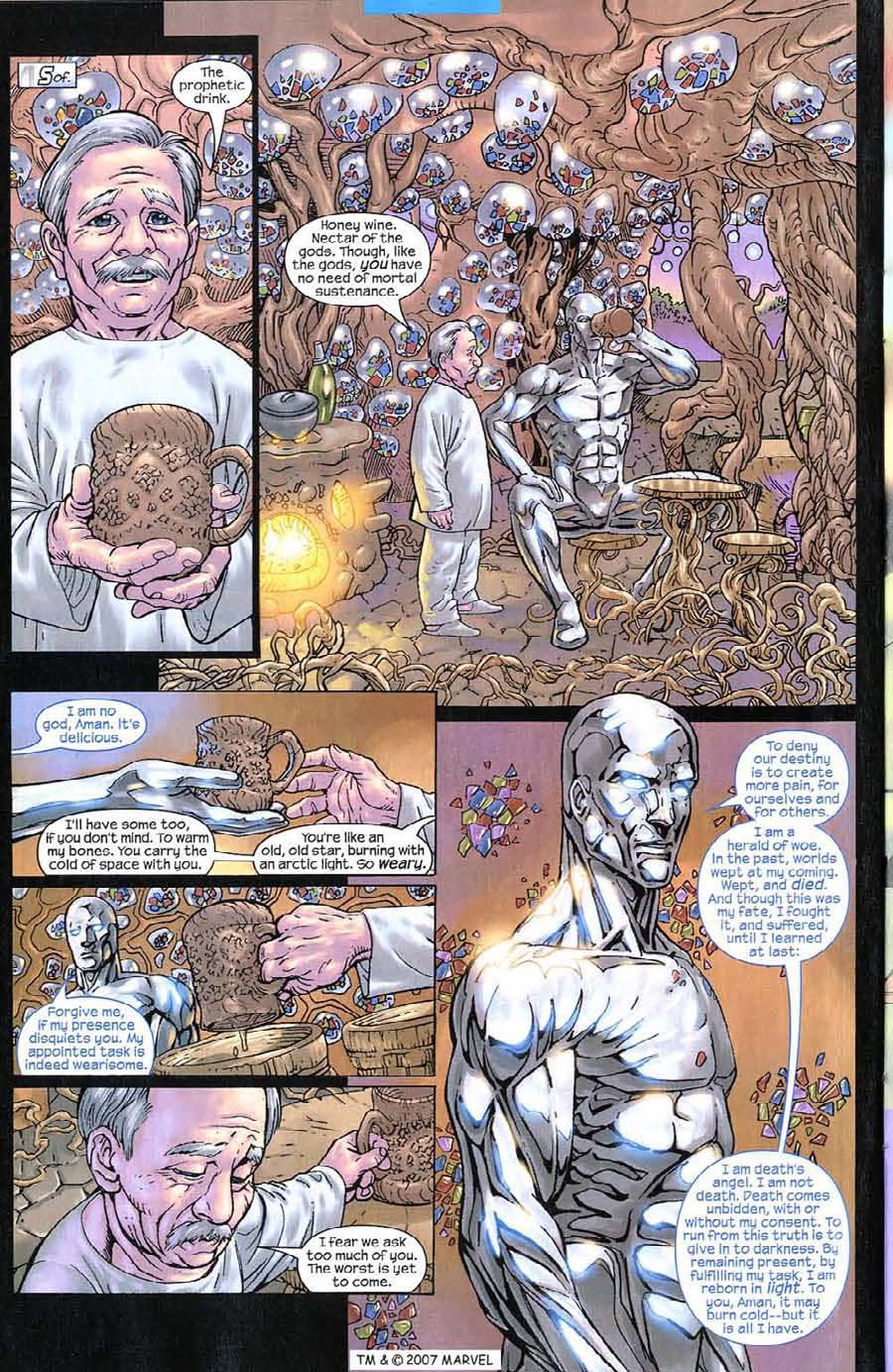 Read online Silver Surfer (2003) comic -  Issue #8 - 22