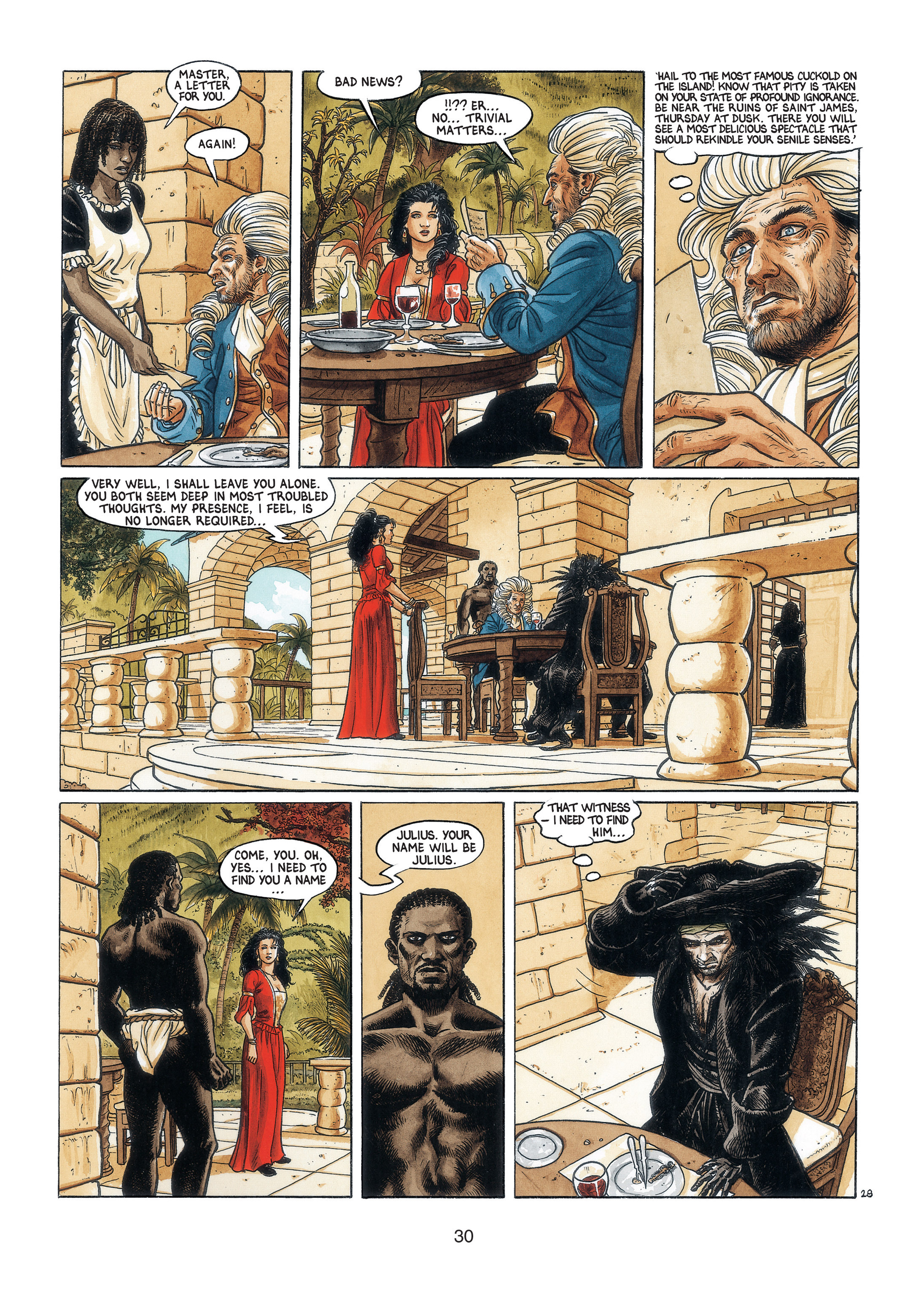 Read online Barracuda comic -  Issue #3 - 31