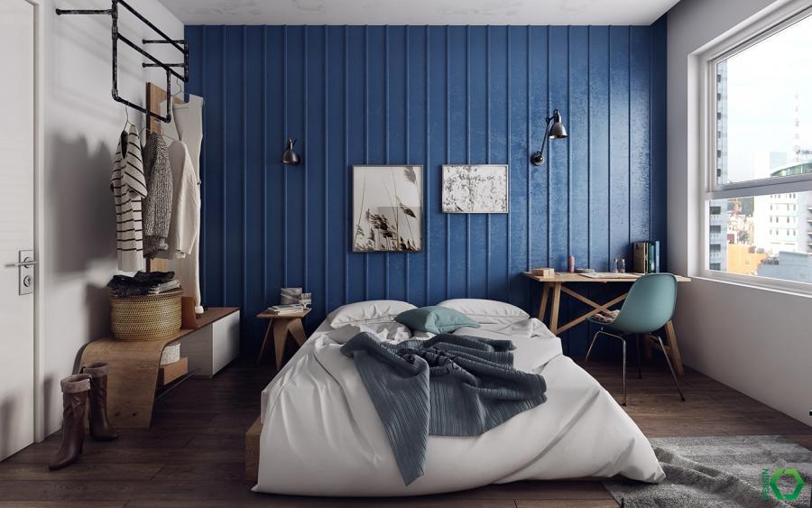 wystrój wnętrz, wnętrza, urządzanie mieszkania, dom, home decor, dekoracje, aranżacje, styl skandynawski, Scandinavian style, nordic style, styl industrialny, industrial style, sypialnia, bedroom