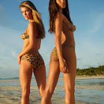 Body Paint De Nina Agdal y Ariel Meredith Para Sports Illustrated 2013. Foto 8