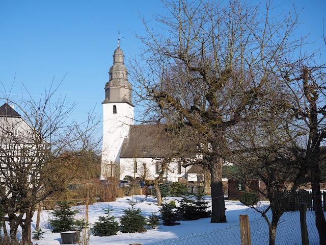 Sauerland winter schnee schmallenberg wormbach kirche