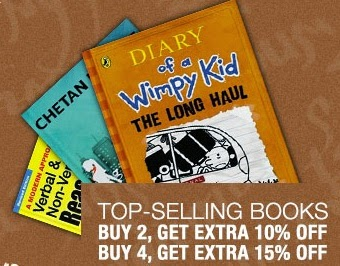 Top Selling Books: Upto 68% Off + Buy 2 Get 10% Extra Off | Buy 4 Get 15% Extra Off @ Flipkart