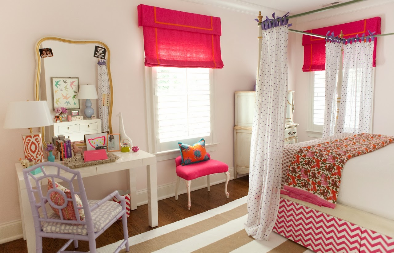 a teenage dream bedroom in domino magazine on A Teenage Room  id=49912