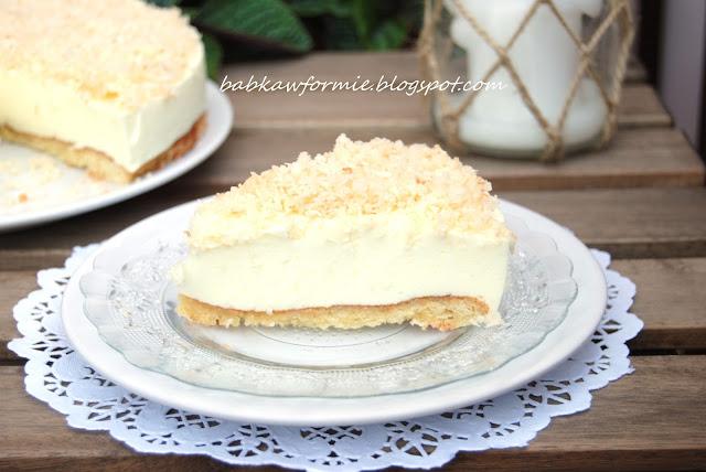ciasto śnieżny puch babkawformie.blogspot.com