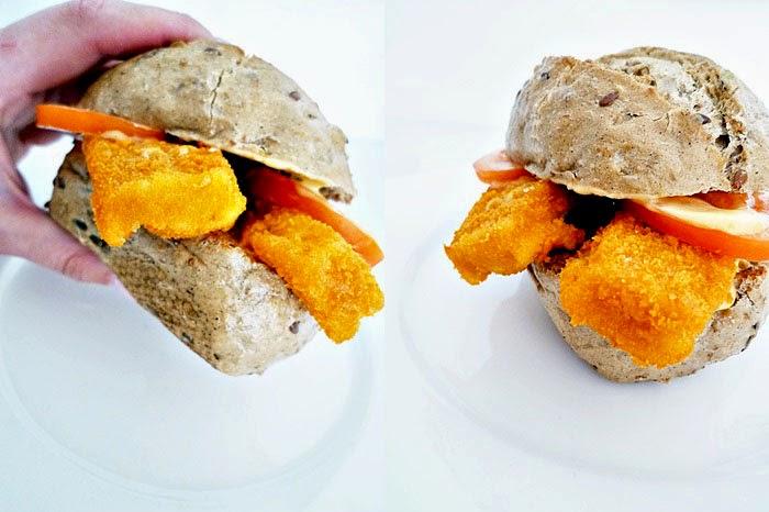fast food :: Fischstäbchenburger