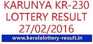 kerala lottery result, Karunya lottery result, Kerla Karunya KR 230 lottery result, Todays Karunya KR-230 Result, Check kerala KarunyaKR230 Lottery result, Kerala lottery result KR 230 today, keralalotteries Karunya KR230 result