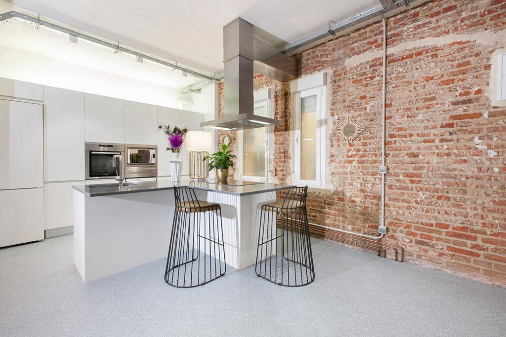 Cocinas con estilo ideas para dise ar tu cocina - Limpiar azulejos cocina para queden brillantes ...