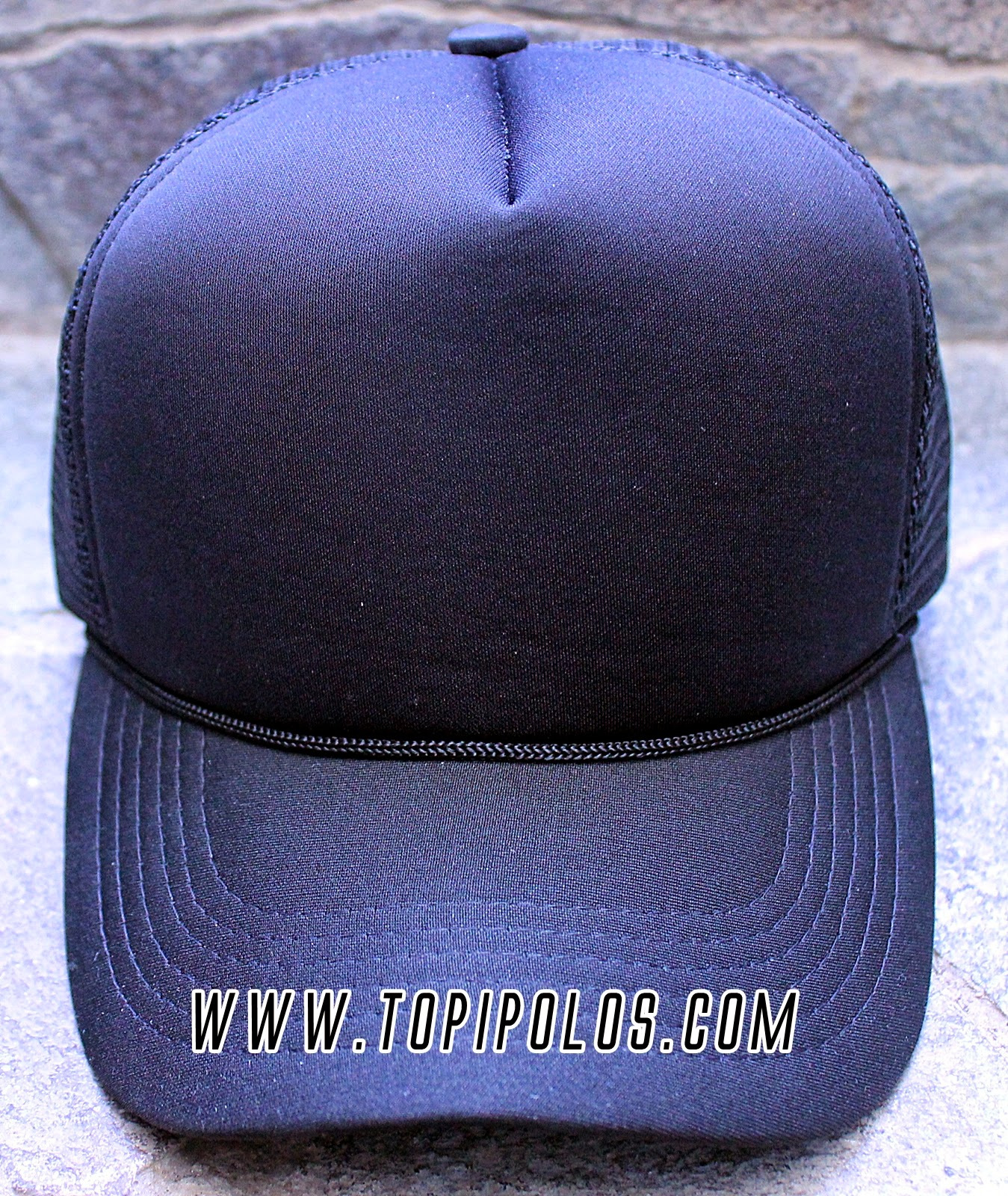 topi polos jaring bagus   trucker ~ TOPI POLOS 2082f32434
