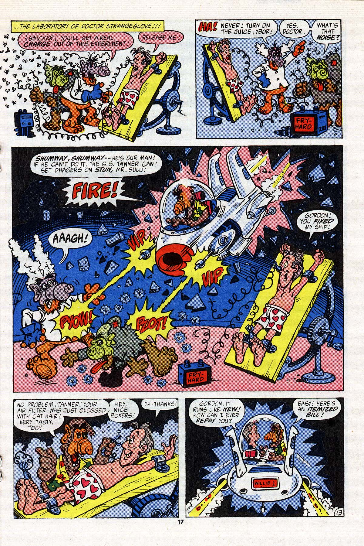 Read online ALF comic -  Issue #3 - 14