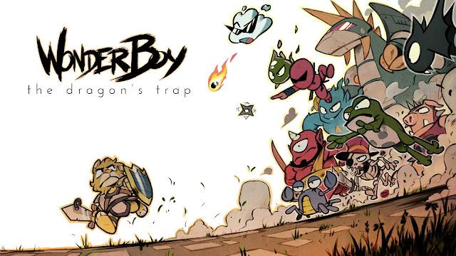 Wonder Boy: The Dragon's Trap nos permitirá cambiar de gráficos actuales a los originales