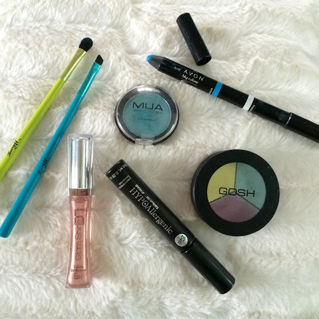 mermaid eyelids at DVF NYFW products used to create