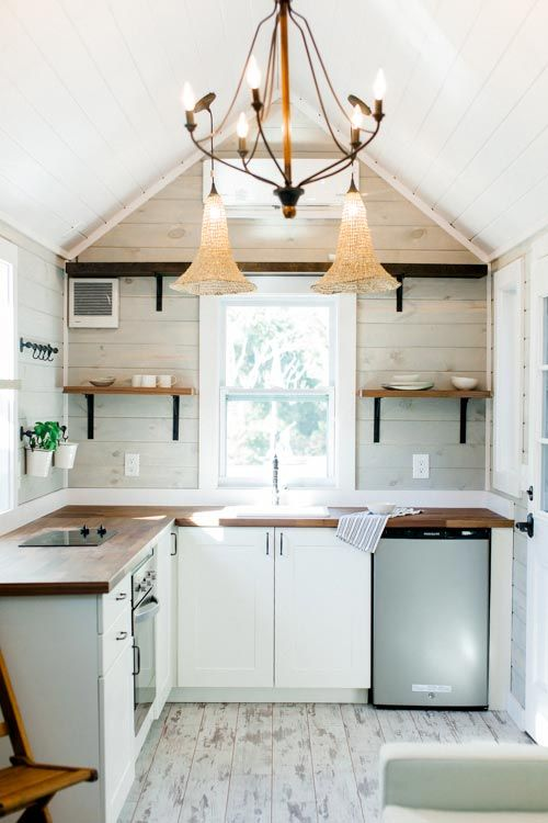 Farmhouse Tiny Home Kitchen