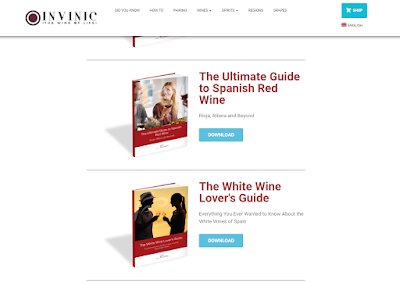 "Featured in the article: ""How Do Bloggers Make Money: 4 Proven Ways"". Example of wine blog Invinic advertises eBooks"