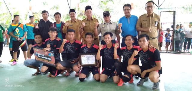 PJ Sekda Muratara Tutup Turnament Futsal Cup 2019
