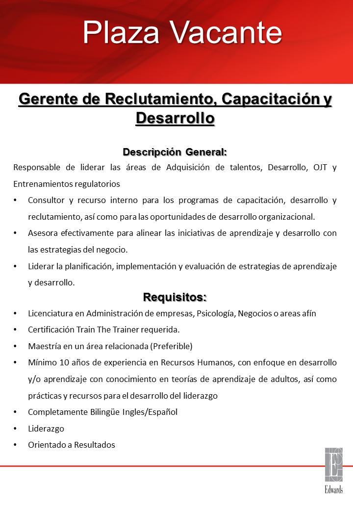 plaza vacante para inspector de calidad ayuda empleos rd