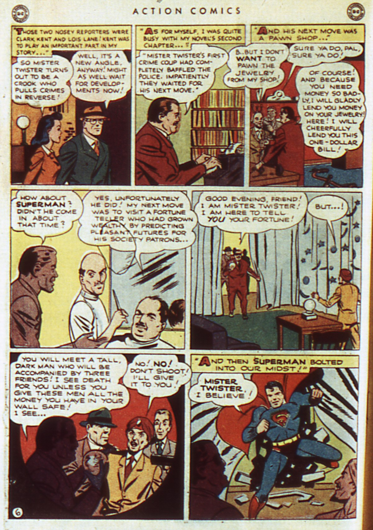 Read online Action Comics (1938) comic -  Issue #96 - 8