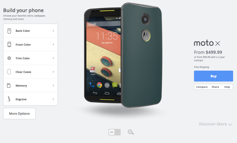 Moto X May Start to Be Customized in Germany Starting July