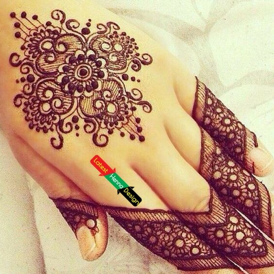 Don't know how to describe it, but bet its one of the best henna designs I found-latesthennadesigns