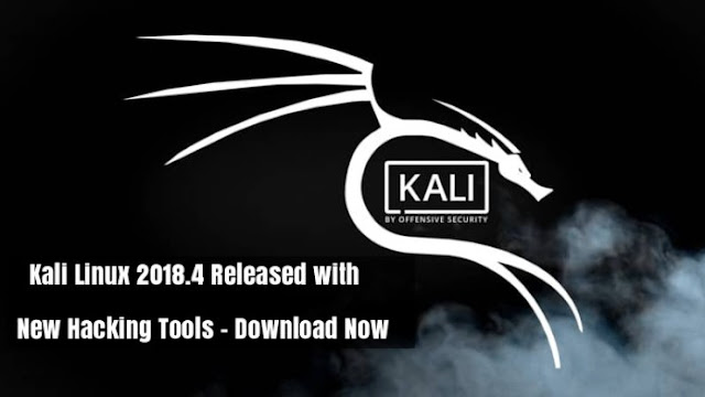 New update Kali linux 2018.4