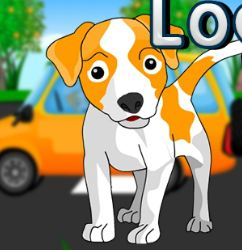 5NGames Locked Car Dog Es…