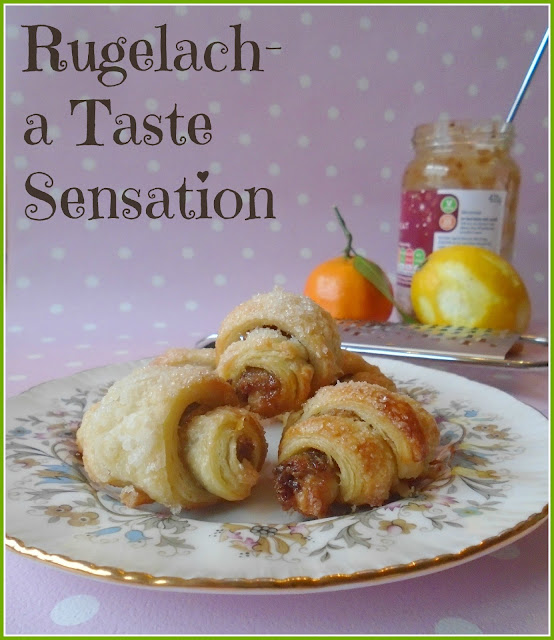 Homemade Rugelach with Sweet Mincemeat