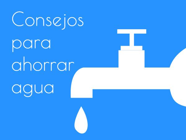 Consejos ahorro agua hogar