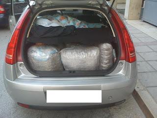 Σύλληψη 2 ατόμων με 48 κιλά χασίς