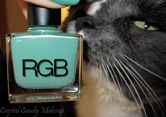 Vernis à ongles Minty de RGB Cosmetics - Nail Lacquer - Review