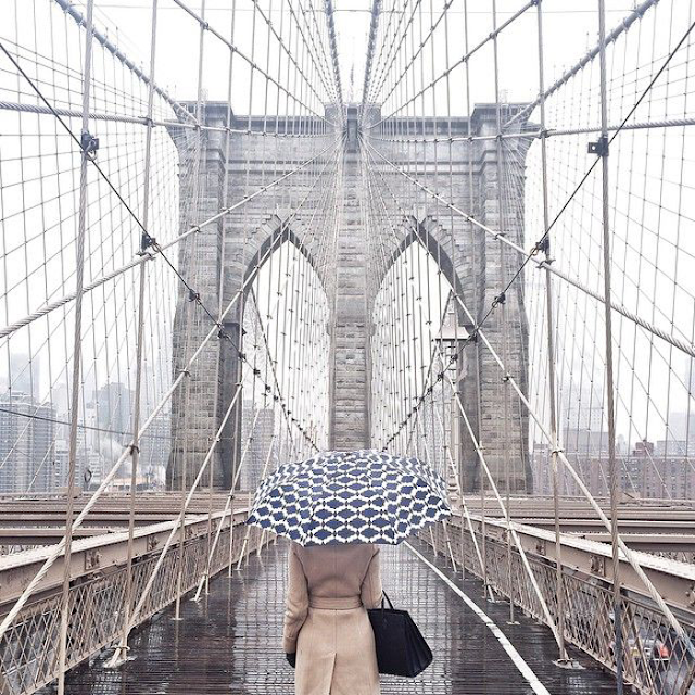 @kessara brooklyn bridge - cool chic style fashion