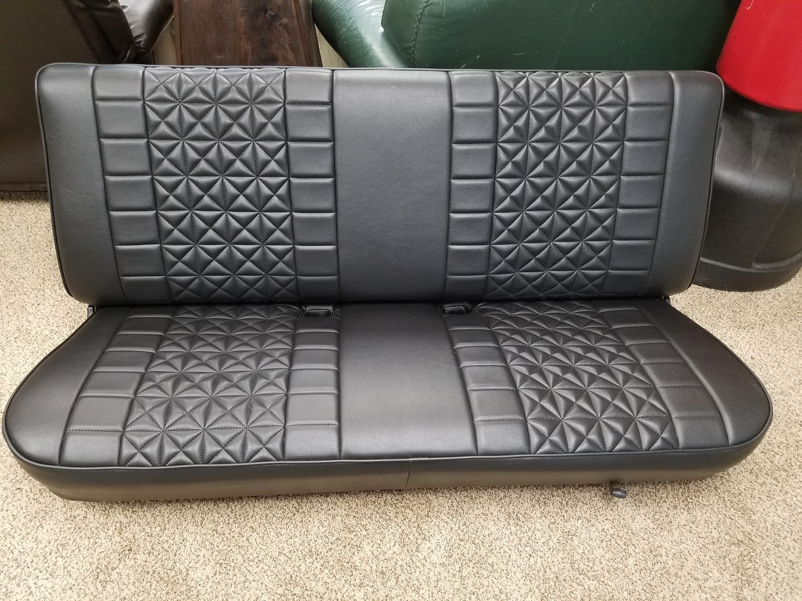Magnificent 1977 Chevy K10 Restore Bench Looking Good Beatyapartments Chair Design Images Beatyapartmentscom