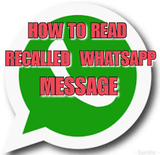 How To Read Recalled or Deleted Whatsapp Message and Enable Anti-Recall Feature